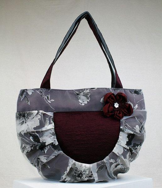 Handtasche - Tasche Handtasche Shopper Damentasche - ein Designerstück von Art-de-Eve bei DaWanda