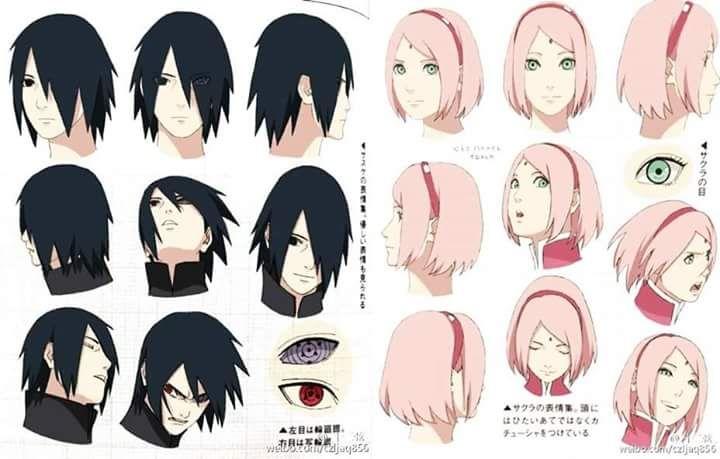 The Boruto movie Uchiha Sasuke and Sakura