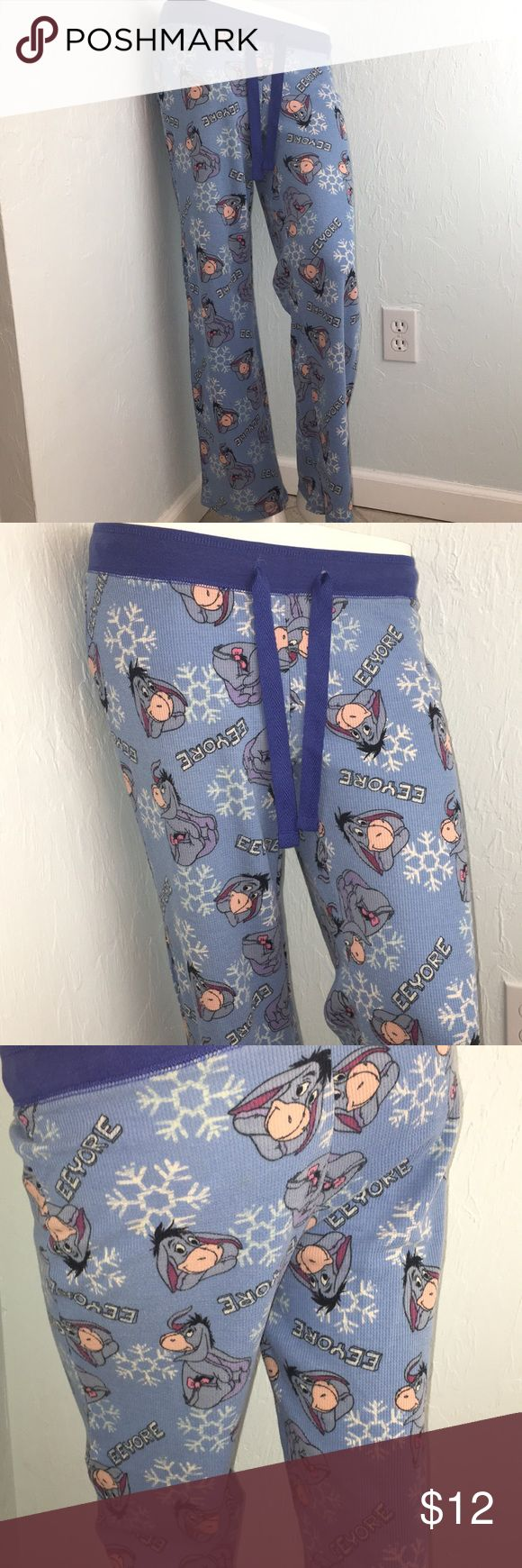 Eeyore Thermal Pajamas (SALE) Disney  Blue Size: Small   Colors may vary due to lighting, seller does its best to portray the right color. - I-24 Disney Intimates & Sleepwear Pajamas