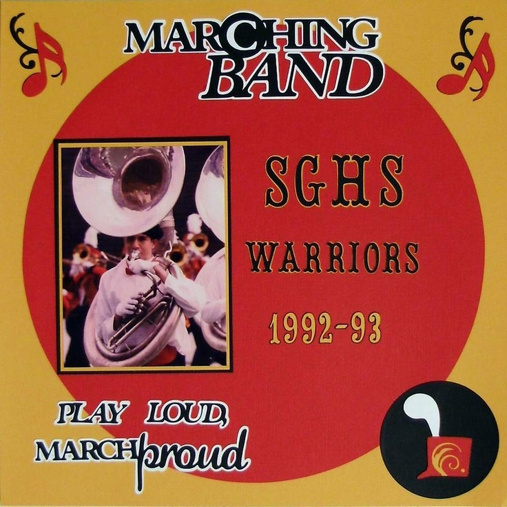 Marching band scrapbook com