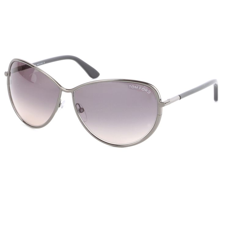 Tom Ford TF0181 Francesca 08B Sunglasses – Gunmetal