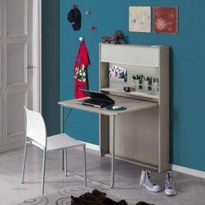 Galileo Desk from Maconi. Galileo space-saving fold away desk is ideal...