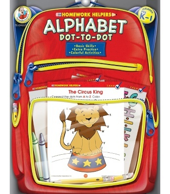 #cdwish list    Alphabet Dot-to-Dot Workbook - Carson Dellosa Publishing Education Supplies