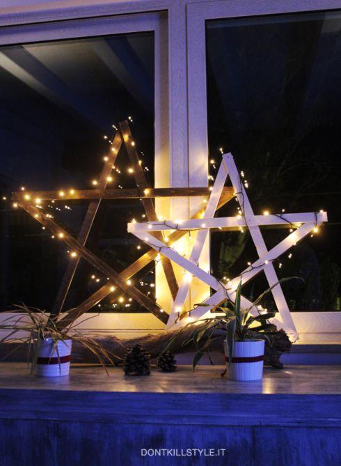 {DIY} Stelle di Natale in legno