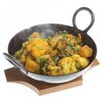 Цветная капуста с картофелем по-индийски - рецепт с фото