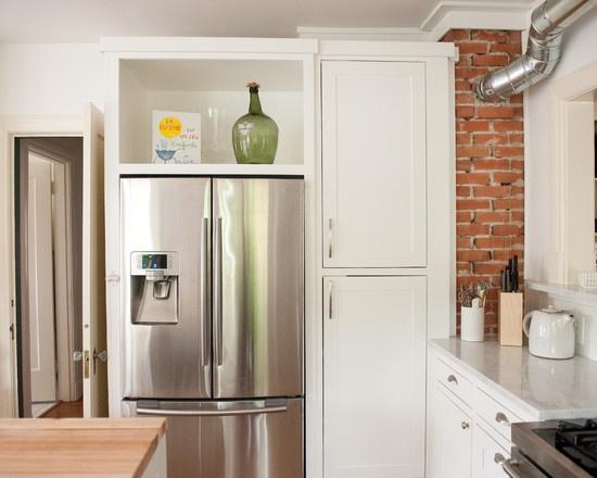 21 Best Kitchen Diy Fridge Enclosure Images On Pinterest