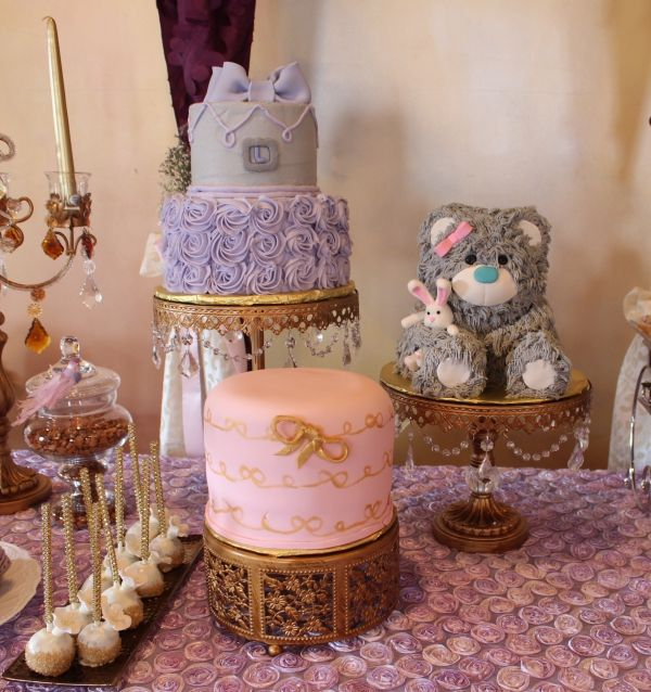 Purple Ombre Butterfly Baby Shower - Bella Paris Designs