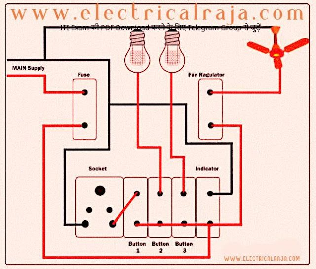 Circuit Diagram Electrical Extension Board Wiring Diagrams