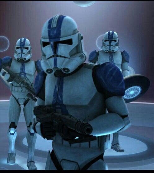 Clones troopers 501
