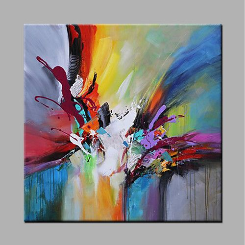 Hand Painted Hang-Painted Oil Painting – Abstract Modern Interior Frameless of 2018? € 66.1