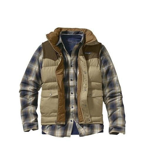 Patagonia - wow they're finally using wearable urban colors...I'd buy this.