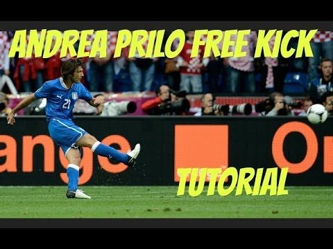 Pirlo Free Kick Tutorial | Kick It Like the Pros Episode 1 |