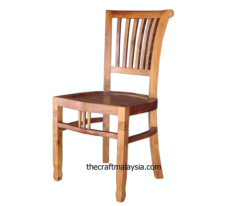 Cario Teak Wood Dining Chair Made Of Premium Teak It Is Solid And Strong  Its Design Mak