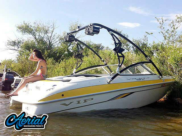 2002 Vip Valiant 1996 With Assault Tower Review Wakeboarding Wakeboard Boats Bodyboarding