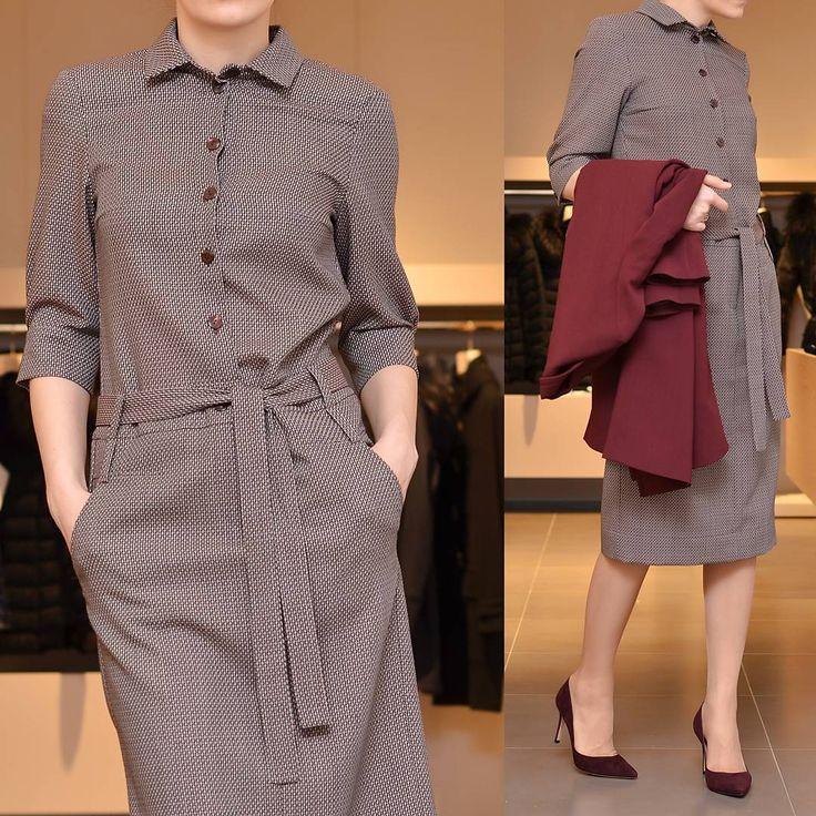 «SALE: Платье рубашечного кроя #mvfashionlab - универсальный наряд на каждый день.»