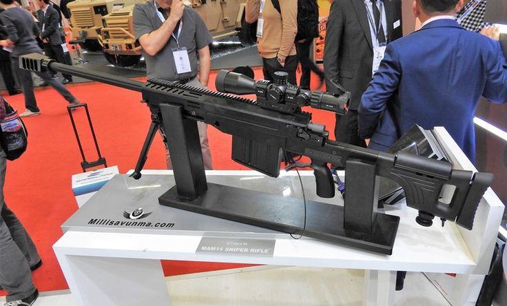 MKE MAM-15 Keskin Nişancı Tüfeği (Sniper Rifle)