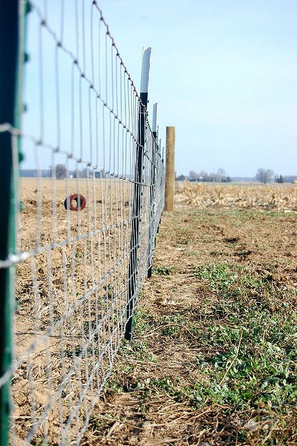 How to install field fencing