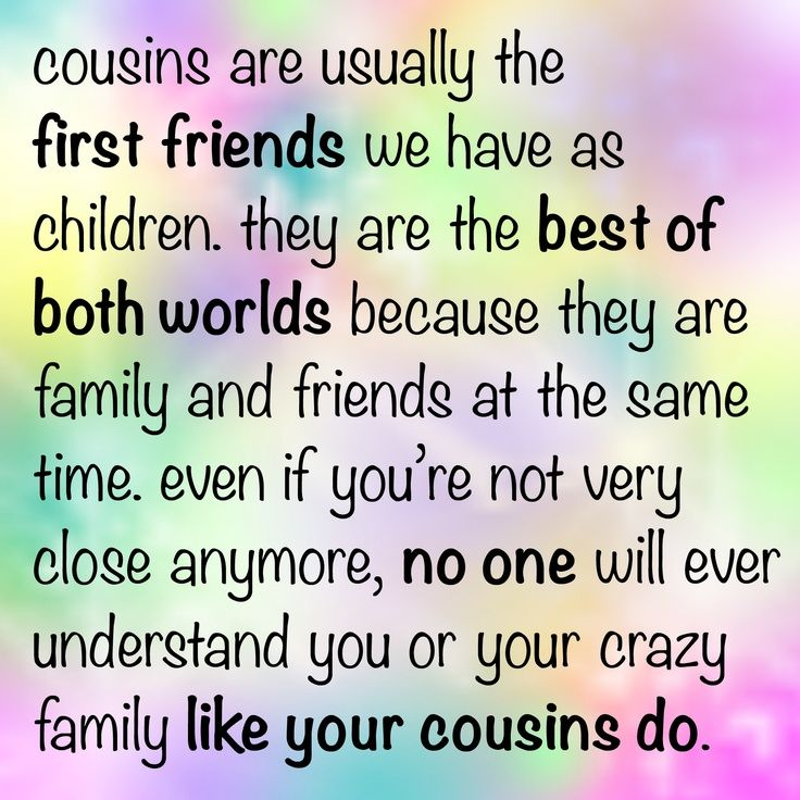 cousin quotes | Uploaded to Pinterest