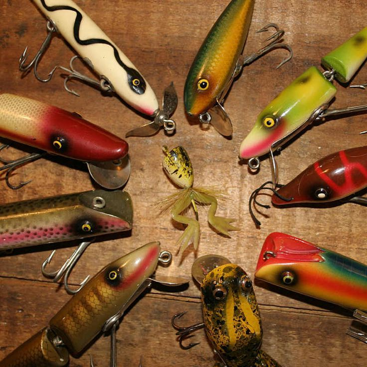 88 best images about fishing lures on pinterest antiques for Collectible fishing lures