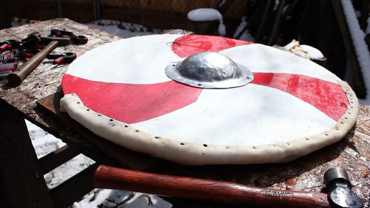Making a Viking Shield (from raw materials)
