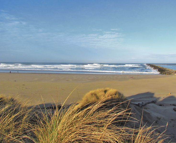 Ahh, beautiful beach in Reedsport Oregon