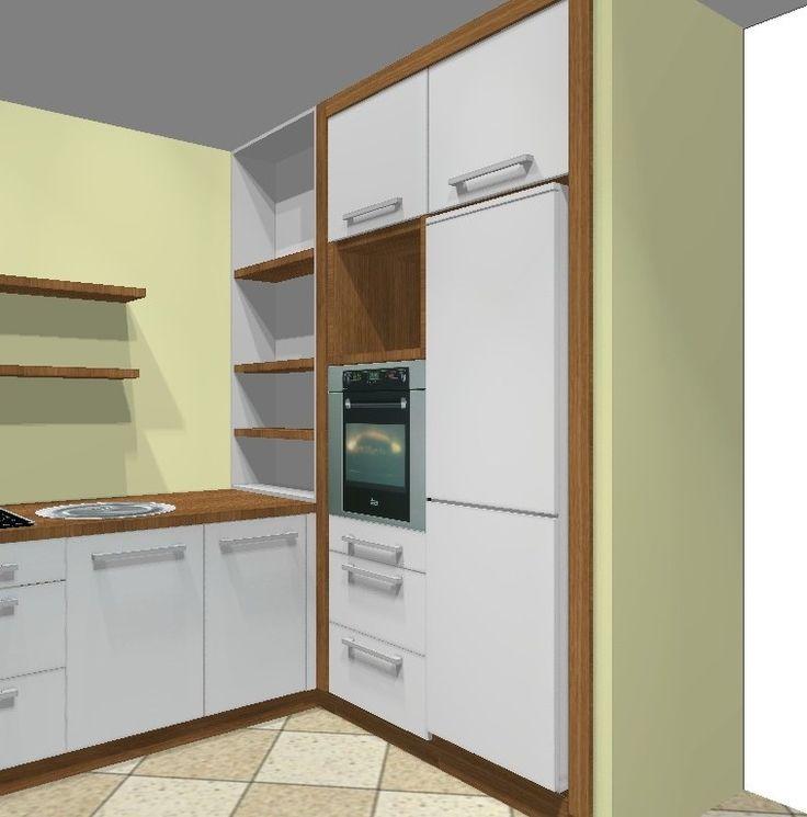 17 Best images about Kuchnia  biała drewno cegły on Pinterest -> Kuchnia Jasna Drewno