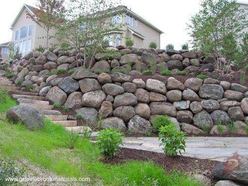 M s de 25 ideas incre bles sobre muros de contenci n en - Como hacer muros de piedra ...