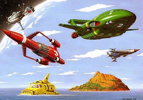THUNDERBIRDS!.
