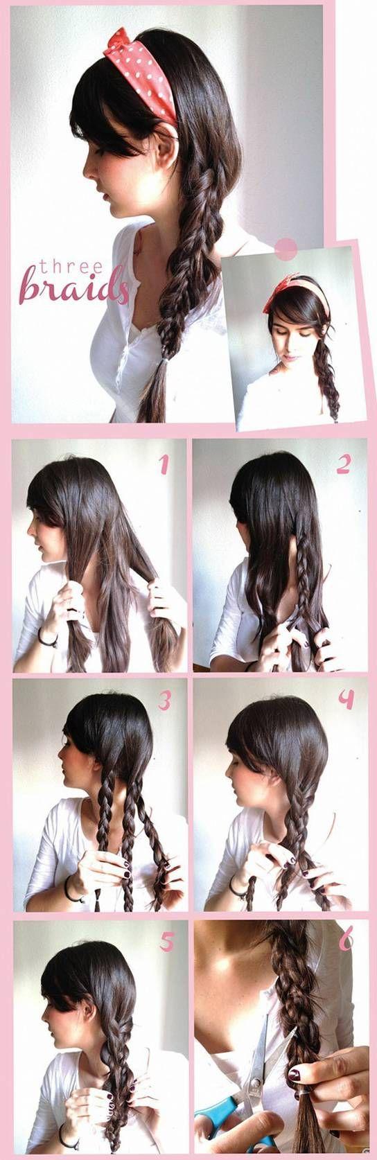 прическа на длинные волосы косы