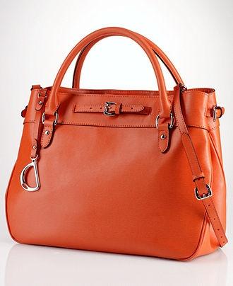 Lauren Ralph Lauren Handbag, Newbury Satchel - Lauren Ralph Lauren - Handbags & Accessories - Macy's