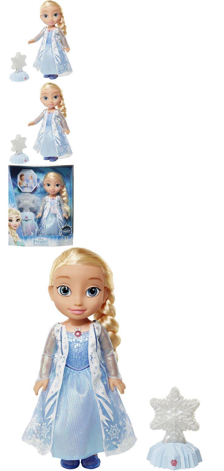 Disney Princesses 146030: Disney Frozen Northern Lights Elsa Doll By Jakks Pacific Elsa Sings Let It Go. -> BUY IT NOW ONLY: $38.55 on eBay!