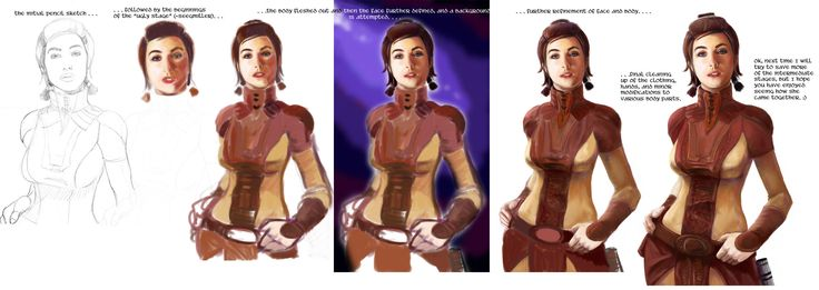 bastila shan dark side | And lastly a very long picture you can scroll through to see the ...