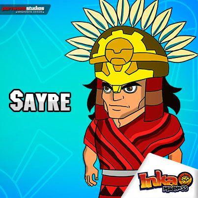 Sayre. #sayre #incas #inca #inka #inkamadness #games #apps #App #peru #ios #itunes