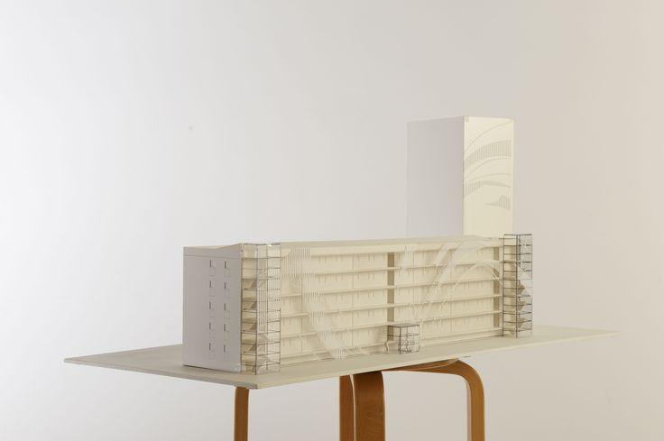 Model - Lundtoftegade, København. Pålsson Arkitekter