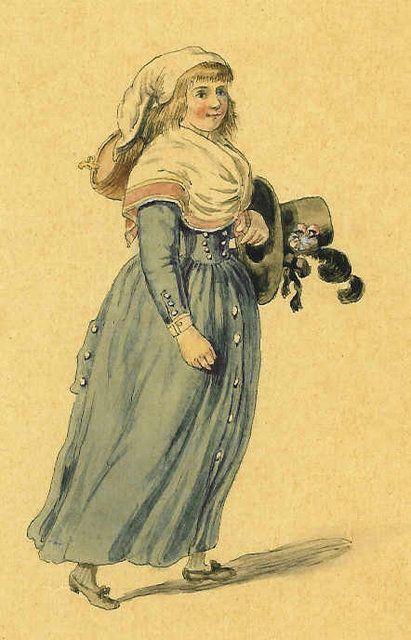 A vivandière from 1792