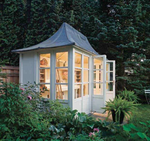 Potting shed & greenhouse inspiration.