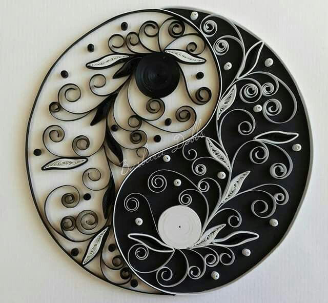 2305 best wall art decor images on pinterest decoration for Decoration murale yin yang