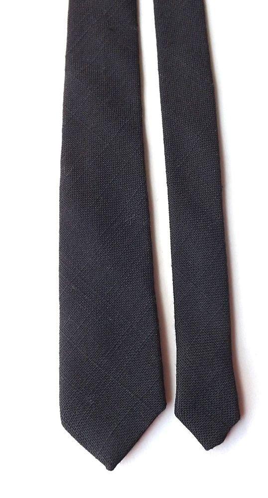 1980/'s Mods Skinny Neck-Tie White