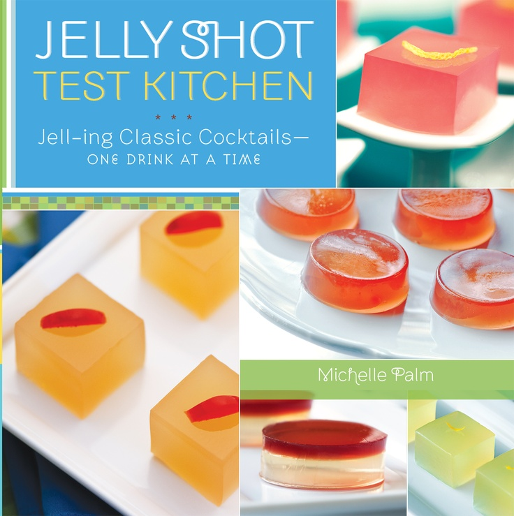 An entire website of amazing jello shots.  They are tiny works of art that look more like molecular gastronomy than something you'd find at a college party.