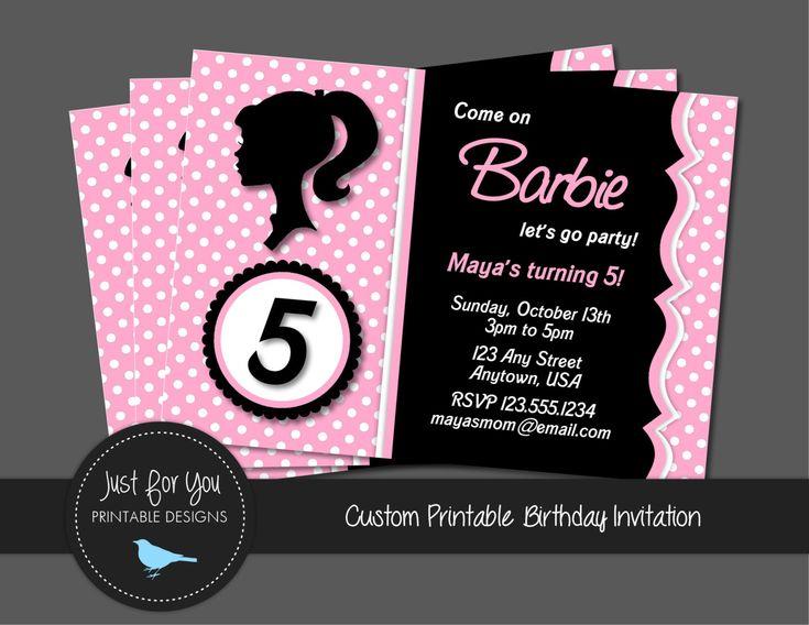 23 best BARBIE images on Pinterest Barbie party Barbie