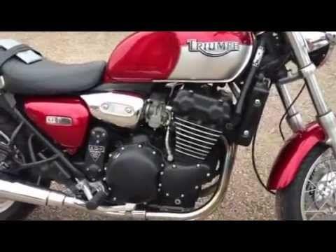 Triumph Legend, single seat conv. With bafflectomy. - YouTube