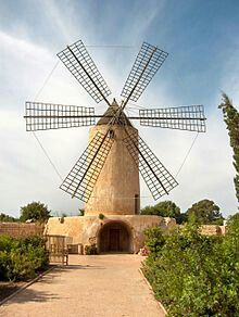 Molino Sa Torre. Mallorca, Spain.
