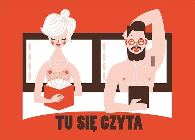 TU+SIE+CZYTA+w+łóżku-+sitodruk