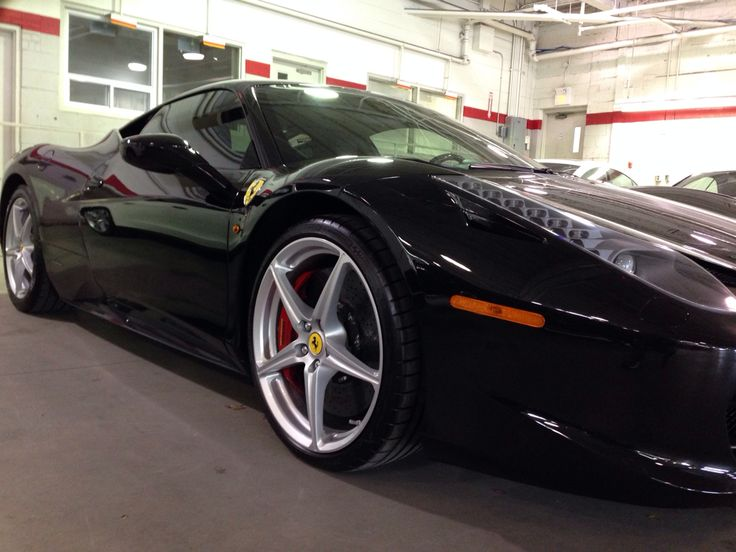 458 Ferrari Italia polished and protected with @arcticcoating  #arcticcoating
