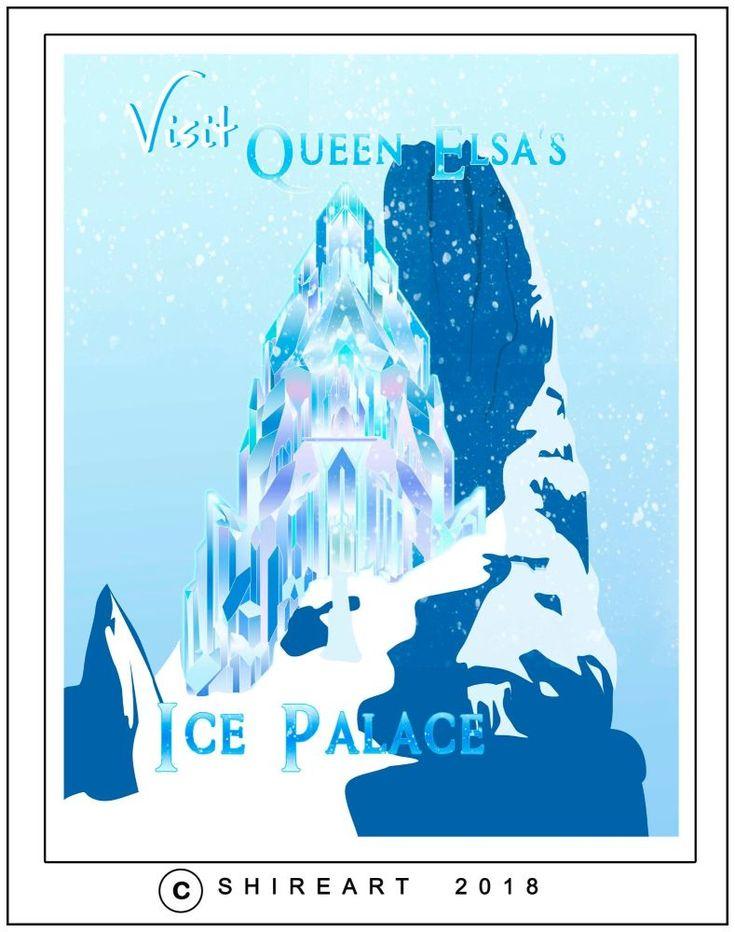Frozen Elsa's Ice Palace