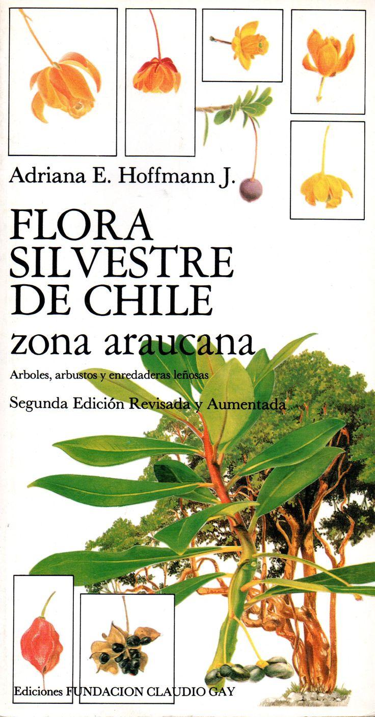 Flora Silvestre de Chile. Zona Araucana. Arboles, arbustos y enredaderas leñosas. Adriana Hoffmann J.