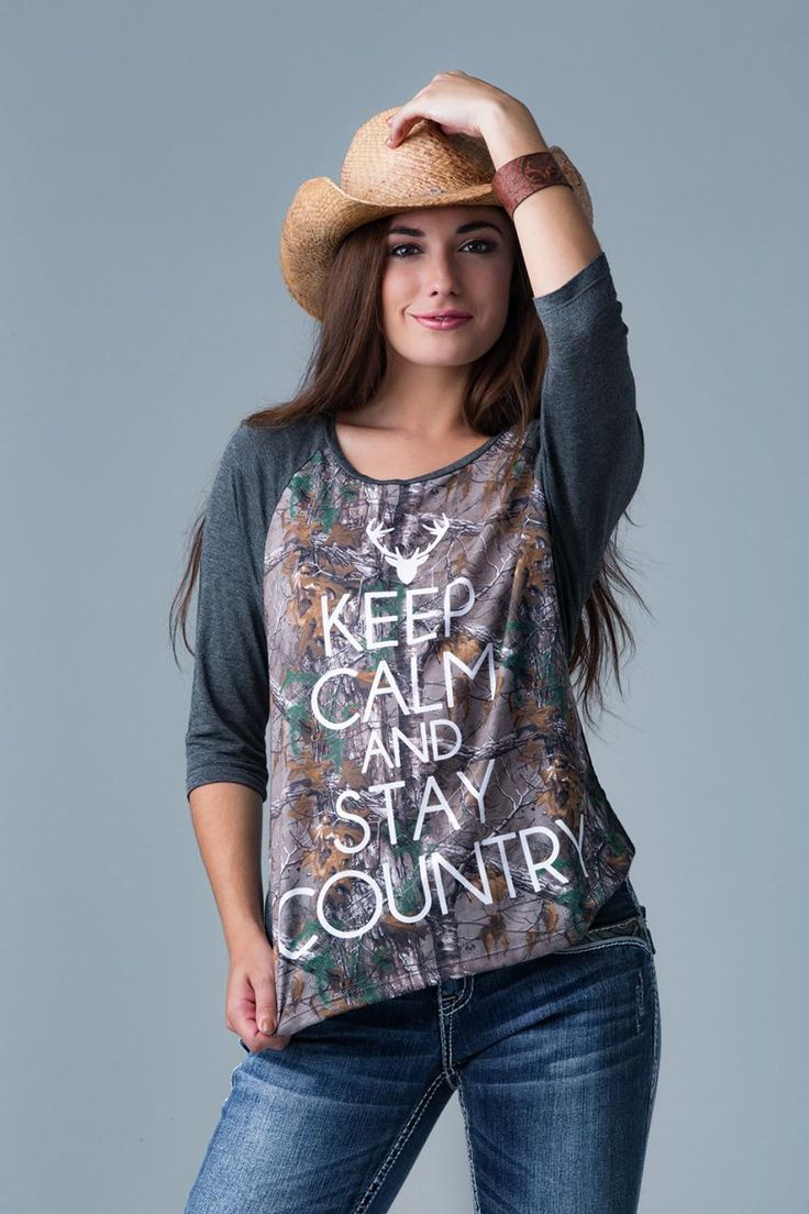 Realtree Women Camo shirts 2016 | Keep Calm and Stay Country