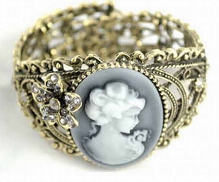 Bracelet Gothique Victorien Camé
