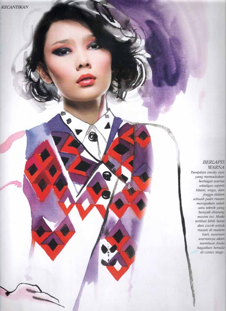 Tiara Westlake I Fashion Spread I Skema Warna I Dewi Magazine I Nov 12  #photography #fashion #model