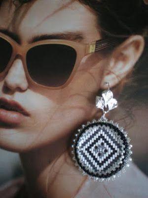 Le Perline di ElisaLisetta: Orecchini con Bottone